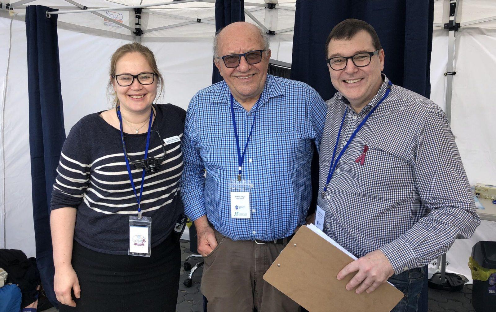 Dr Julia Crawford, Dr Peter Foltyn, Dr Richard Gallagher