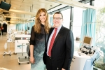 Delta Goodrem and Assoc Professor Richard Gallagher